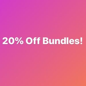 💗 20% off bundles